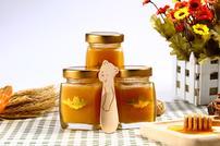 吃蜂蜜美食的人