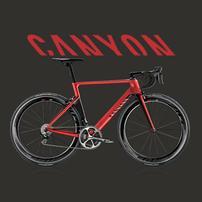 Canyon蚕蛹自行车